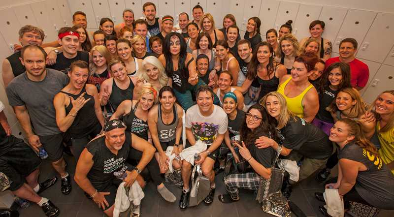 A celebrity-hosted Soul Cycle benefit at 1225 Old Town apartments