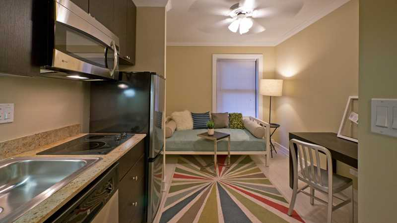 Micro-apartments as an alternative to roommates