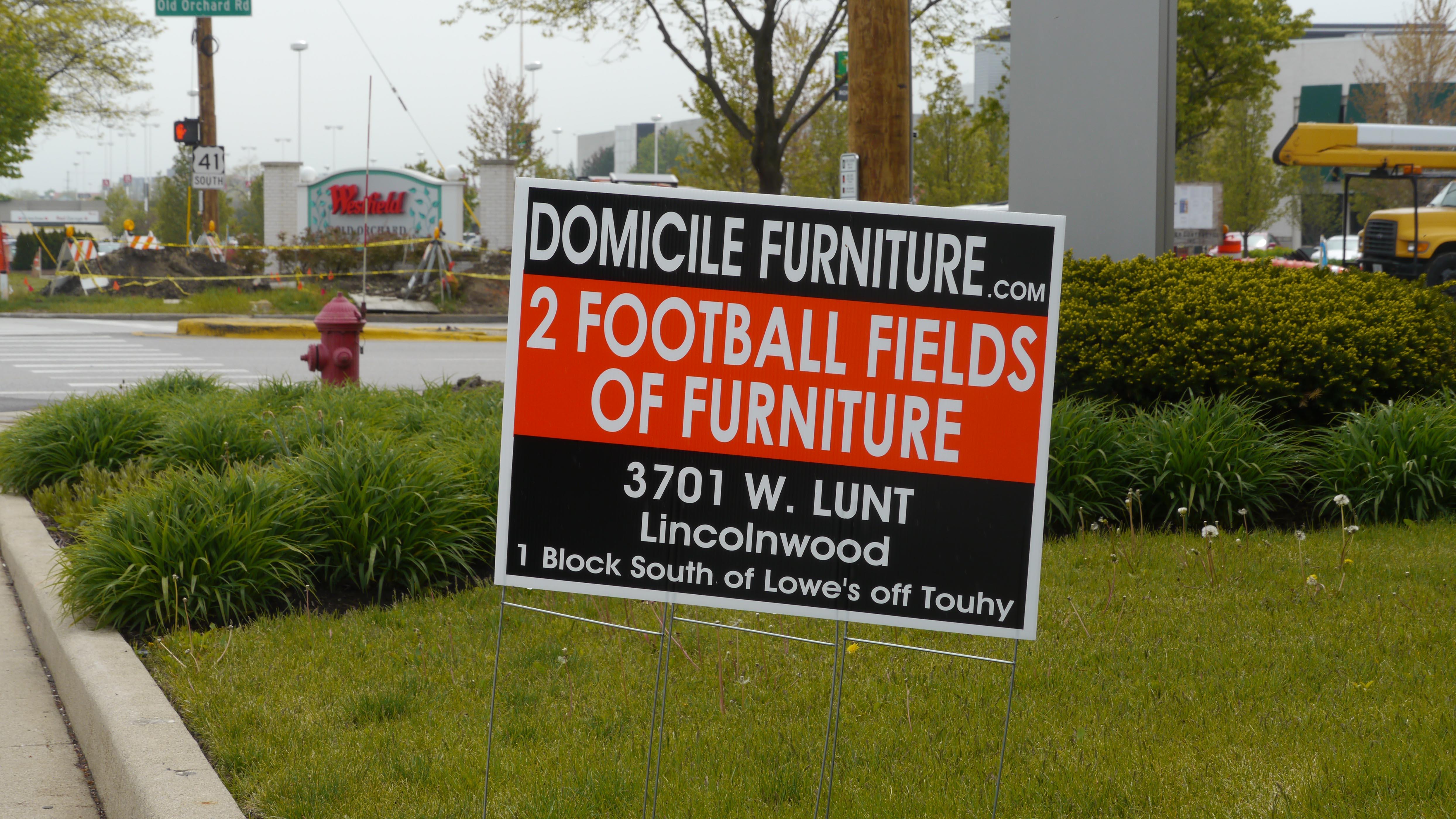 Domicile Furniture S Vandalism Spree Yochicago