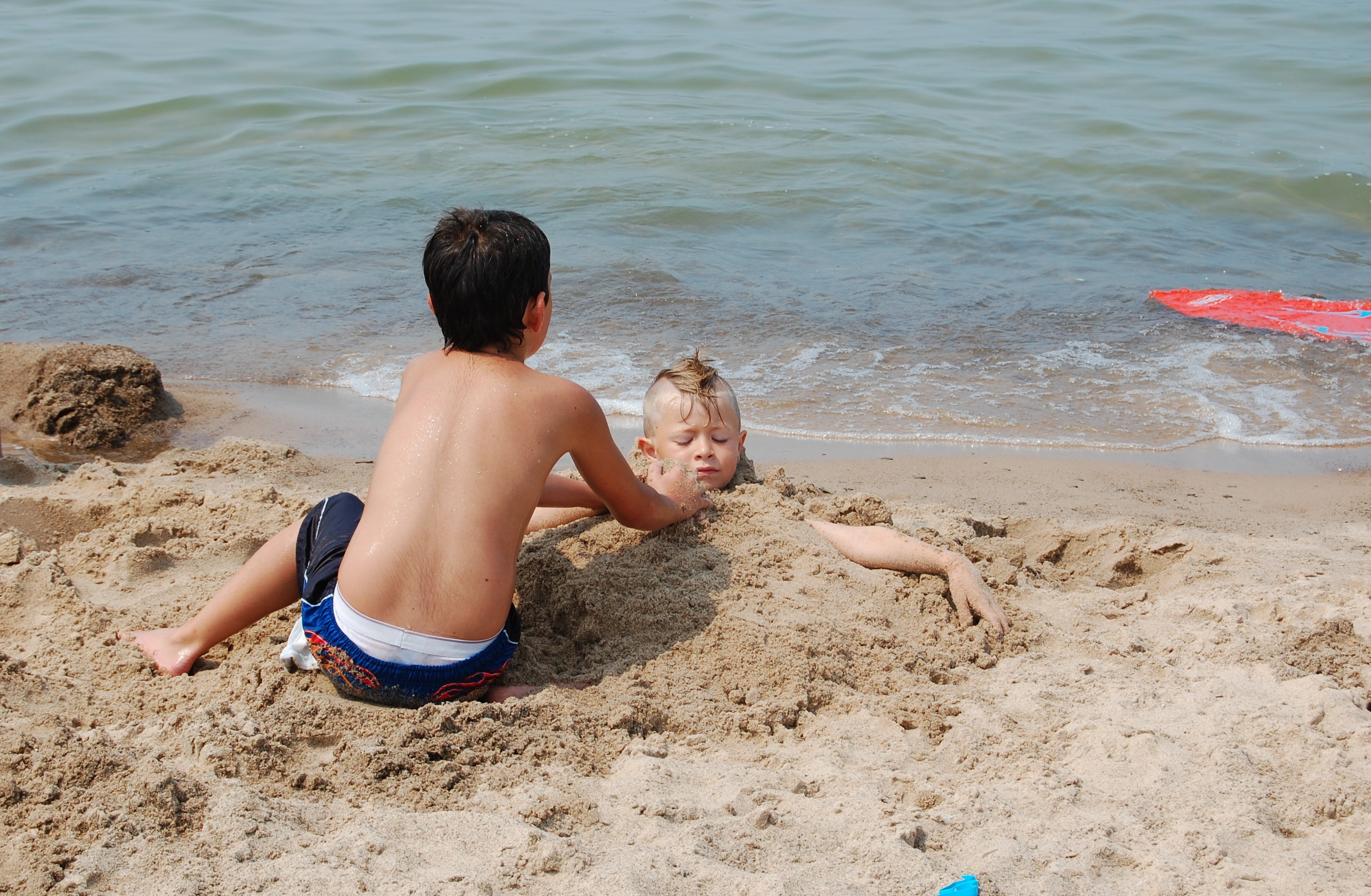 A day at the beach: Yo goes to New Buffalo