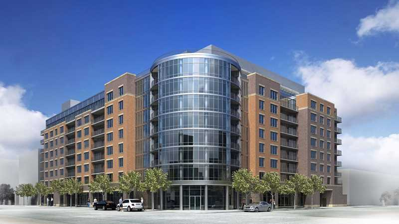 Groundbreaking tomorrow for 216 apartments at Madison and Racine