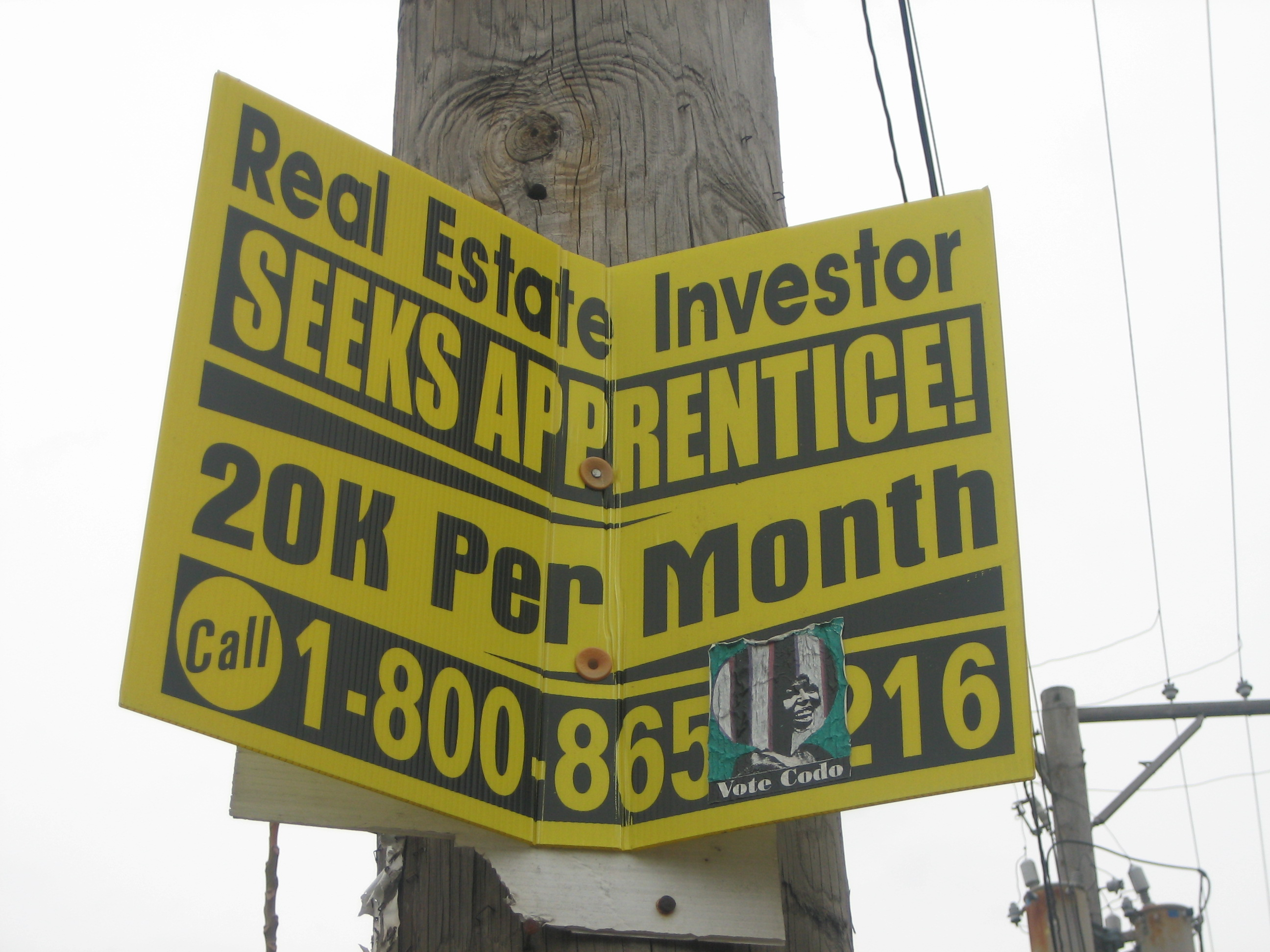 The real deal in Wicker Park – 20k a month for the right real estate apprentice!