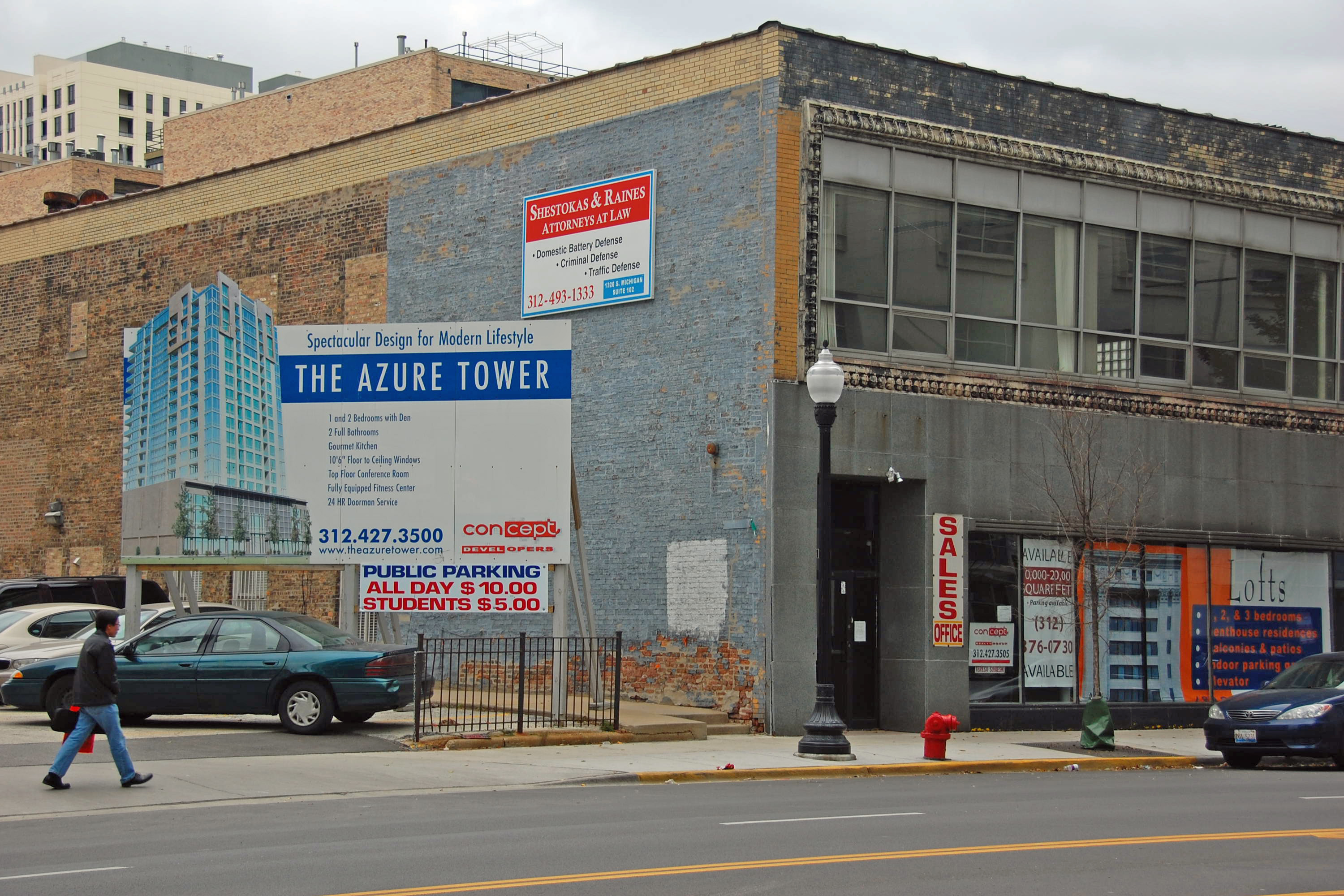 In the South Loop, a relic of a bygone era