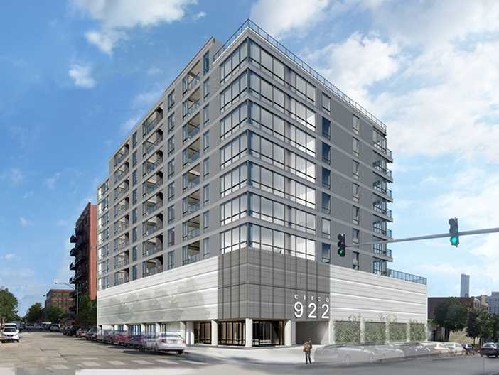Another West Loop apartment project breaks ground, gains a name