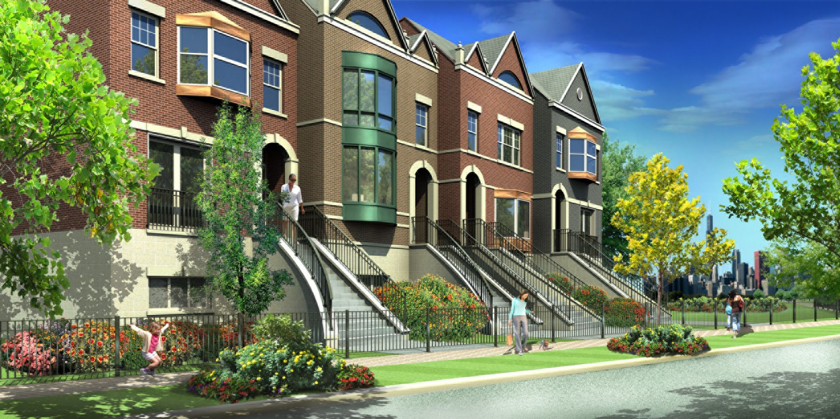 Lake Park Crescent's first for-sale homes to break ground